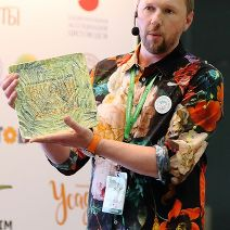 организатор премии Сергей Карпунин / organizer of the RUSSIAN FLORIST AWARDS Sergey Karpunin